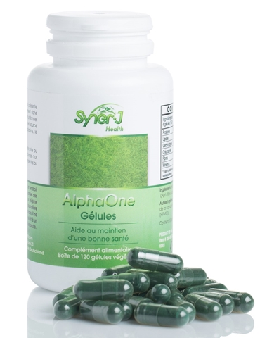 Alpha One gélules - 120 gélules de 250 Mg